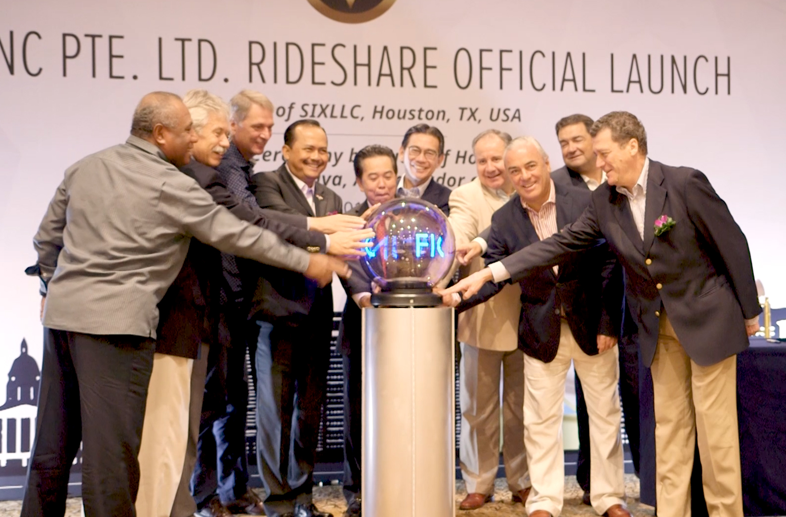 Rideshare Official Launch